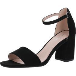 ABOUT YOU Páskové sandály 'Alisha' černá