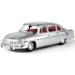 Abrex Tatra 603 (1969) Stříbrná Metalíza 1:43