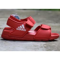 Dětské Páskové sandály adidas Performance v červené barvě na léto