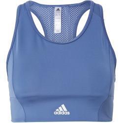 ADIDAS PERFORMANCE Sportovní podprsenka kouřově modrá / bílá