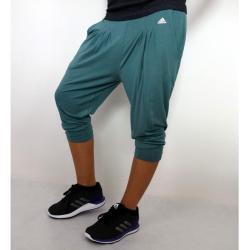 adidas Performance SPU DRAPY PANT Dámské tříčtvrteční kalhoty