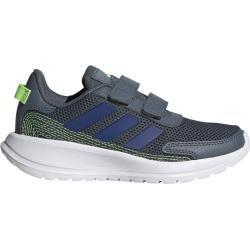 Pánské Boty adidas v šedé barvě na suchý zip prodyšné