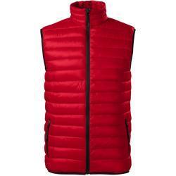 Adler Pánská prošívaná vesta Everest - Jasně červená   XL