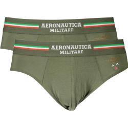 AERONAUTICA MILITARE pánské boxerky Barva: Zelená, Velikost: XL