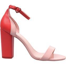 Aldo Aldo Bellla dámské Heeled Sandals, Red - EU 35 (UK 2) / Red SD23917608