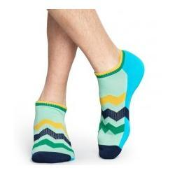 Athletic Zig Stripe Low Sock