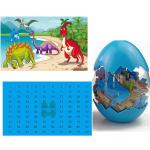 B2B Dinosauří puzzle - modré