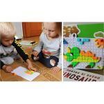 B2B Mozaiková stavebnice - dinosauři