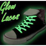 B2B Svítící tkaničky do bot, zelená