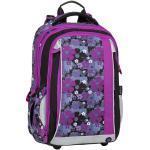 Bagmaster Dívčí školní batoh pro prvňáčka BAGMASTER MERCURY 8 A BLACK/PINK/VIOLET