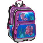 Bagmaster Dívčí školní batoh pro prvňáčky BAGMASTER GALAXY 9 C VIOLET/BLUE