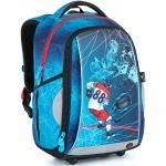 Bagmaster Klučičí školní batoh BAGMASTER MARK 21 A BLUE, modrý, kolekce 2021, hokej, hokejista, novinka, Pastrňák, puk, branka, led, gól,
