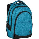 Bagmaster Studentský batoh se skrytou kapsou na zádech BAGMASTER DIGITAL 9 D BLUE/BLACK
