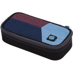 Bagmaster Studentský penál BAGMASTER CASE DIGITAL 20 C BLUE/RED/LIGHT BLUE, stylový, barevný pro holky i kluky, novinka, nová kolekce