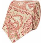 Béžová kravata s paisley
