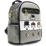 Béžový originální barevný dámský batoh s motivem Aubrianna