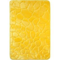 Koupelnové předložky v žluté barvě