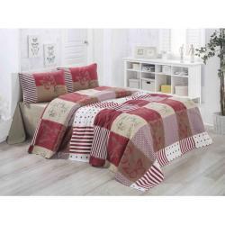 Bonami Lehký prošívaný bavlněný přehoz přes postel Victoria Butterfly, 160 x 230 cm