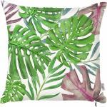 Bonami Zelený povlak na polštář Mike & Co. NEW YORK Monstera Heaven, 43 x 43 cm