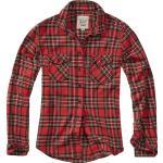 Brandit - Károvaná flanelová košile Amy - Flanelová košile - cervená cerná