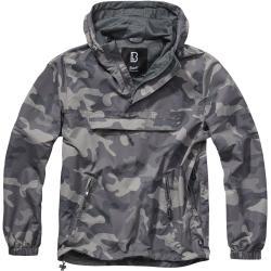 Brandit - Lehká bunda - Větrovka - sivá maskovací