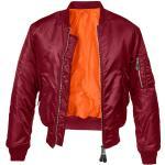 Brandit MA1 Bomber Jacket bordeaux