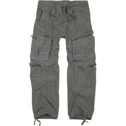 Brandit - Pure Vintage Trousers - Cargo kalhoty - olivová