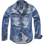 Brandit - Riley Denimshirt - Ďžínsové tričko - modrá