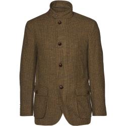 Bunda Brooks Brothers Out Ml Hybrid Jacket Brown Houndstooth