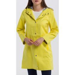Dámské Pláštěnky Gant v žluté barvě