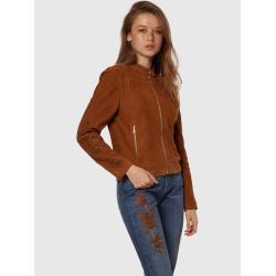 Bunda La Martina Woven Leather Jacket Leather V