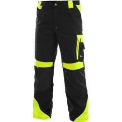 Pánské Pracovní kalhoty v žluté barvě