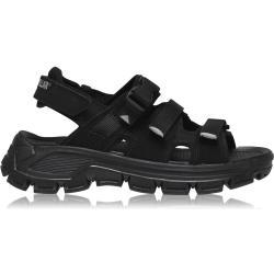 Pánské Sandály Caterpillar v šedé barvě s přezkou na léto