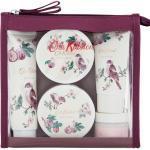 Cath Kidston Cestovní set kosmetiky Fresh Fig, fialová barva, plast