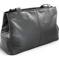 Černá dámská kožená kabelka Adelien Arwel