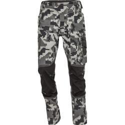 Pánské Pracovní kalhoty v antracitové barvě v moderním stylu