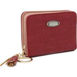 Červená krátká dámská peněženka Adelina New Berry