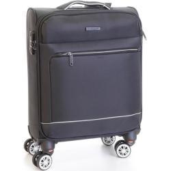 Cestovní kufr T-class CTS 0010, vel. S, TEXTIL, TSA (černá), 53 x 36,5 x 20 cm