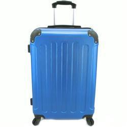 Cestovní palubní skořepinový kufr na čtyřech kolečkách Arteddy (XS) 30l - modrá