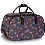 Cestovní taška na kolečkách / schválené kabinové zavazadlo - modr? WH-AGT00308_navy