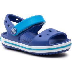 Chlapecké Gumové pantofle Crocs Crocband v modré barvě na léto