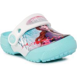 Dívčí Pantofle Crocs v modré barvě s motivem Disney