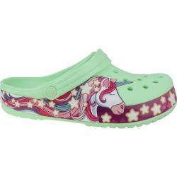 Dětské Páskové sandály Crocs ve velikosti 20 s motivem Meme / Theme Jednorožec na léto