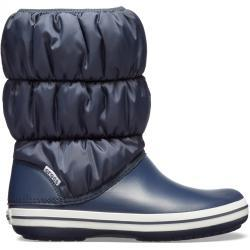 Crocs Winter Puff Boot Women - Navy/White, W5 (34-35)