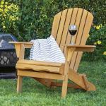 Dřevěná skládací zahradní židle