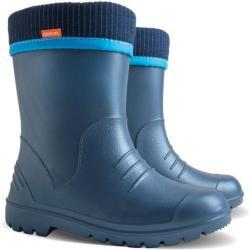 Dětské Holínky Demar v modré barvě s výškou podpatku Nad 9 cm