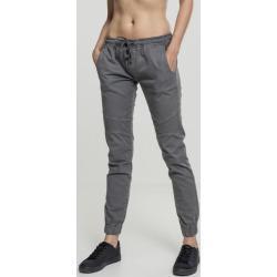 Dámské tepláky // Urban classics Ladies Biker Jogging Pants grey - 4XL
