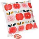 Dekorativní bavlněný polštář se vzorem jablek 40x40