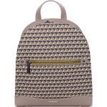 Exkluzivní světle šedý městský batoh - David Jones JeanPierre šedá