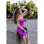 FILA šaty AMBERLY - fialová Velikost: M